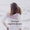 woman worry prayer small